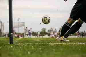 football goal kick