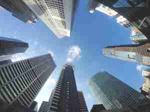 skyscraper buildings