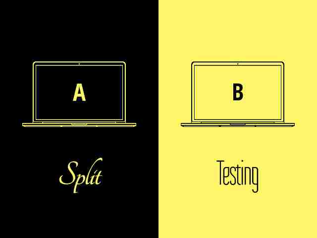 split testing ads